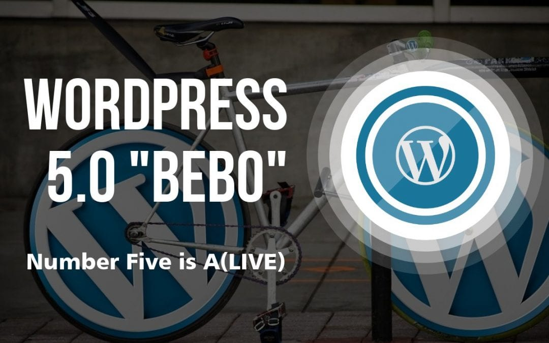 Number Five is aLive (WordPress 5.0 Updates)